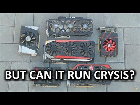 But can it run Crysis?   Modern Hardware Edition   YouTube