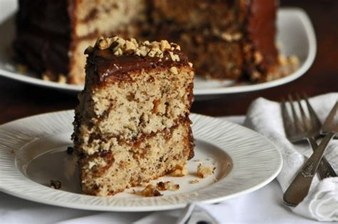 Buttermilk Banana Cake with Coffee Chocolate Frosting Recipe