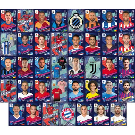 Buy 2018 19 Topps Champions League Stickers Starter Pack ...