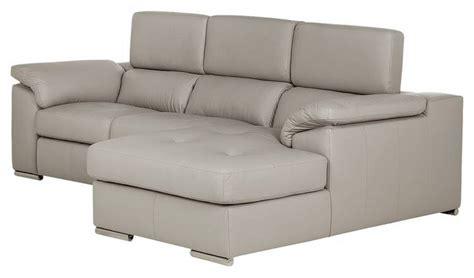 Buy Argos Home Valencia Right Corner Leather Sofa   Light ...