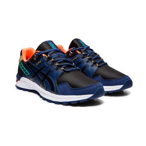 buy Asics Gel Citrek Trail Running Shoe Men   Black, Dark ...