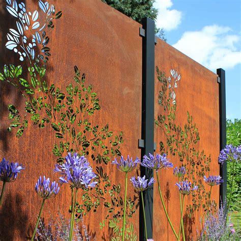 Buy Garden Screen Panels | Contemporary Metal Fencing ...