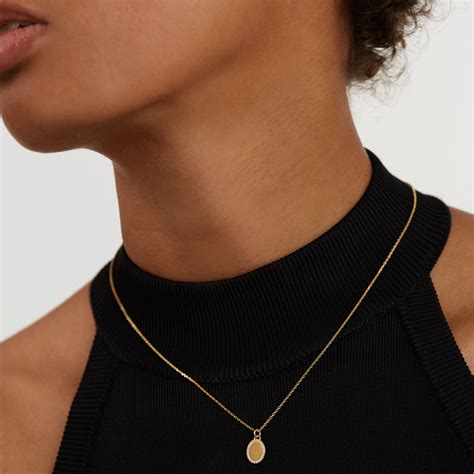 Buy Mademoiselle Gold Necklace at PDPAOLA  | Free ...
