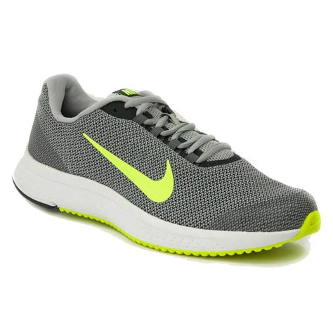 Buy Nike Run All Day Running Shoes  Grey/Volt  Online India