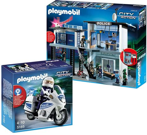 Buy Playmobil 5421 My Secret Police Station Play Box. in ...
