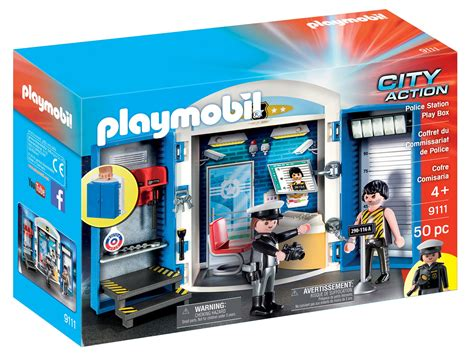 Buy PLAYMOBIL Police Station Play Box in Cheap Price on ...