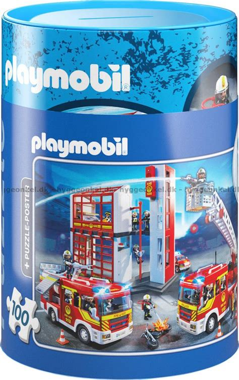 Buy → Playmobil: Fire Station, 100 pieces ← cheap.