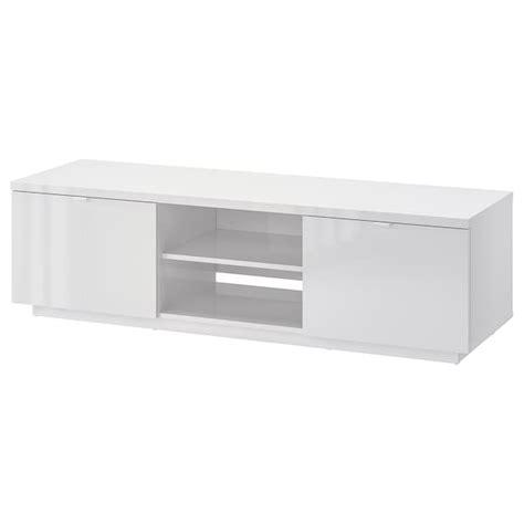 BYÅS TV unit   high gloss white   IKEA