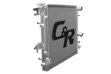C&R Racing Direct Fit Aluminum Radiator  JK    6.4L Hemi ...