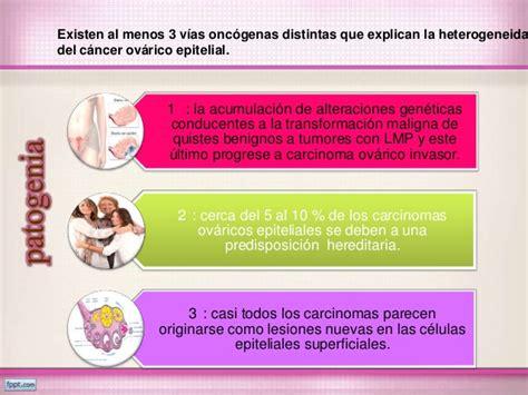 Ca y tumores de ovario