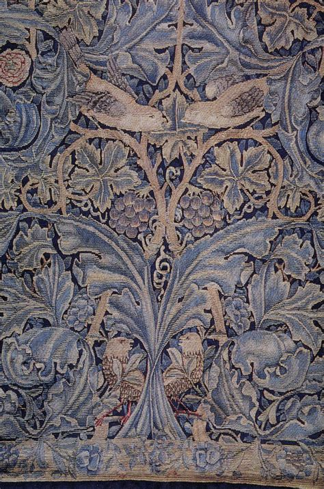 Cabbage and vine tapestry, 1879   William Morris   WikiArt.org