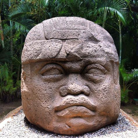 Cabeza de guerrero  #culturaolmeca #olmeca #historia ...