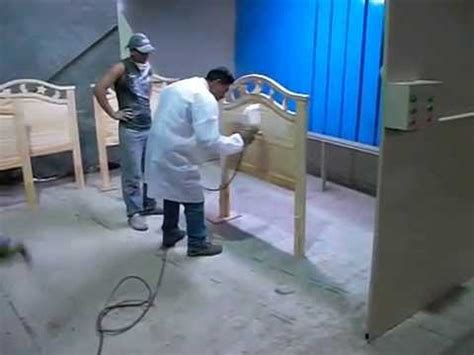 Cabina para pintado de muebles de madera Fabricacion ...