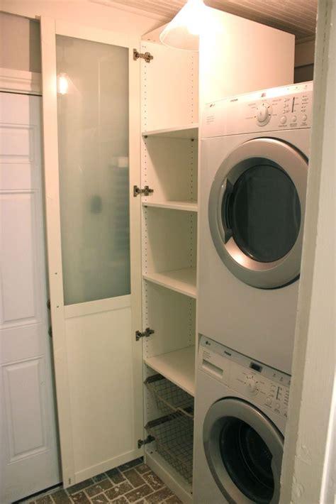Cabinet for Laundry   Ikea Pax Wardrobe   great idea ...