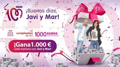 CADENA 100   El Cumpleaños de los 1.000 euros de CADENA ...