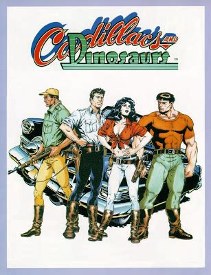 Cadillacs and Dinosaurs   Serie Animada Latino Descargar MEGA