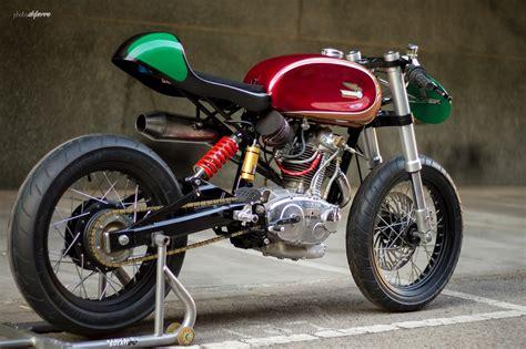 CAFÉ RACER 76: 1963 Ducati 125 TS
