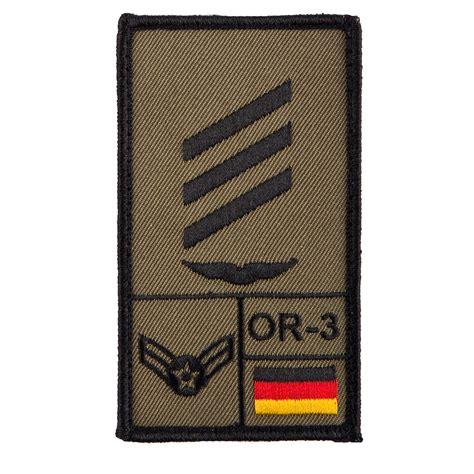 Café Viereck Rank Patch Hauptgefreiter Luftwaffe oliv ...