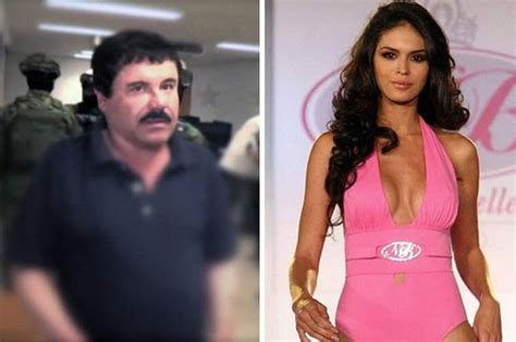 Caged drug lord El Chapo visited by beauty queen lover in ...