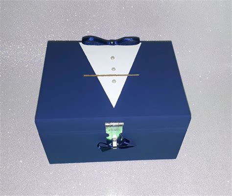 Caixa Cofre Hora da Gravata no Elo7 | Nani Personalizados ...