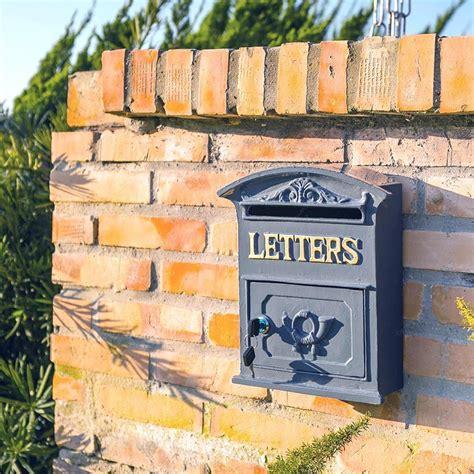 Caixa de Correio Letters Greenway em Metal   Compre ...