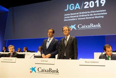 CaixaBank cita a sus accionistas el 3 de abril en València ...