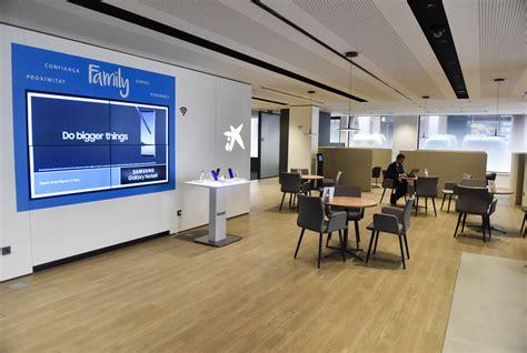CaixaBank ha inaugurado la oficina de nuevo modelo Store ...