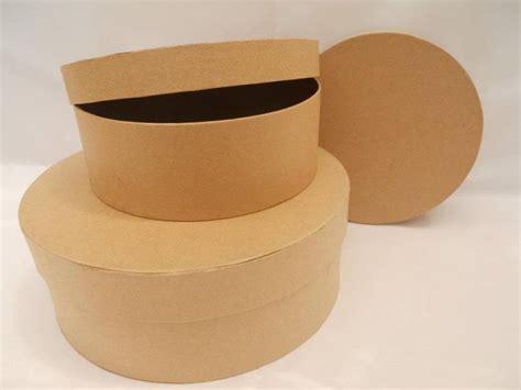 Caja Carton Redonda Grande 20 X 7,5 Cm | Feylo
