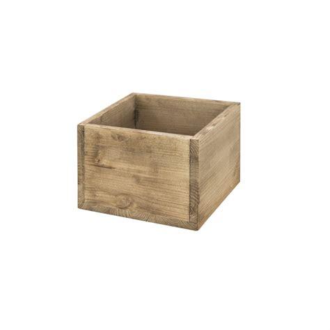 Caja cubo pequeña envejecido | Venta de todo tipo de cajas ...