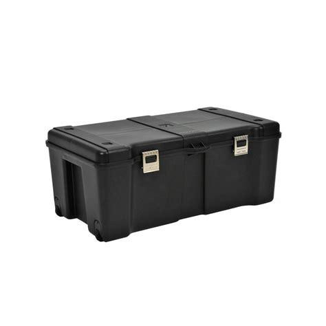 Caja de almacenaje c/ruedas 89L. negra   multicenter