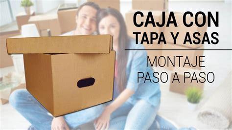 CAJA DE CARTÓN PARA ALMACENAJE Y TRANSPORTE 460x340x260mm ...