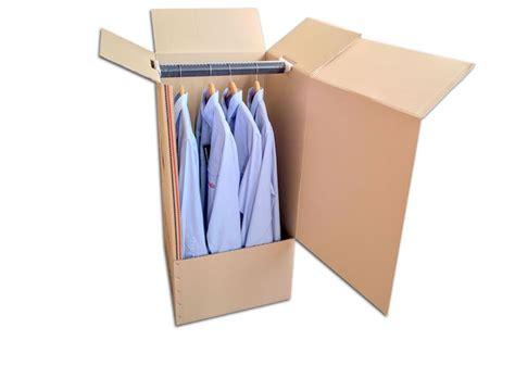 Caja de cartón para colgar y guardar ropa.   Cajas ...