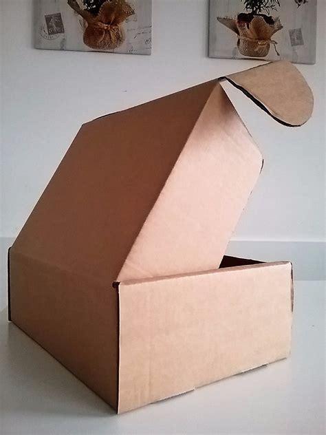 Caja De Carton Para Envíos Mediana   31 X 23 X 11 Cm ...
