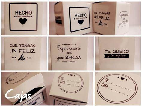 :: Caja de Cartón Personalizada :: Podés elegir frases ...