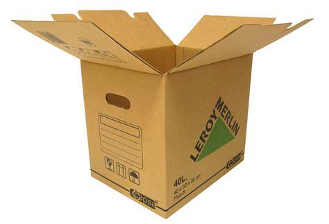 Caja de cartón PLUS 40 LITROS Ref. 15305311   Leroy Merlin