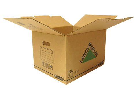 Caja de cartón PLUS 72 LITROS Ref. 15305430   Leroy Merlin