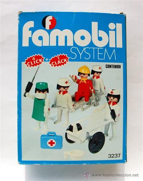 caja de famobil con 1 médico, 2 camilleros, 1 e   Comprar ...