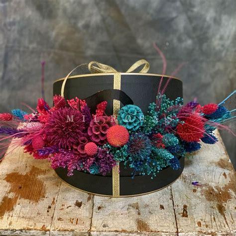 Caja de Flores Secas Decorativas ️