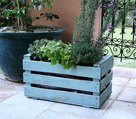 Caja de fruta antigua, jardinera de madera 50x30x27 cm ...
