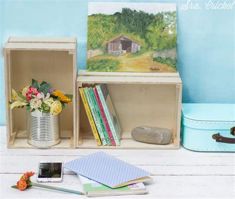 caja de fruta de madera para pintar y personalizar.