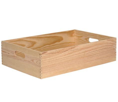 Caja de madera BASIC Ref. 13909175   Leroy Merlin