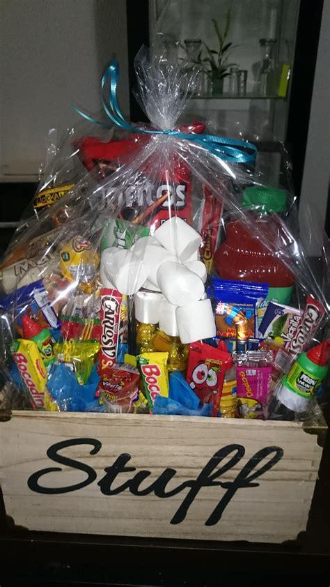 Caja de madera con dulces, cumpleaños. | Manualidades ...