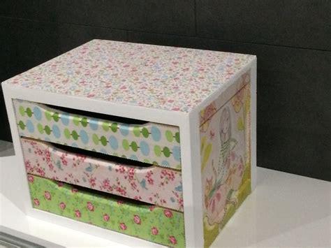 Caja de madera decorada con tela   Leroy Merlin