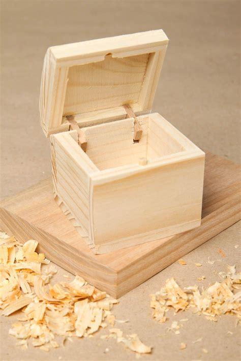 Caja de madera para decorar artesanal artículo para pintar ...