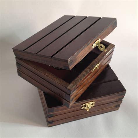 Caja de madera para sello de lujo   SellosDeCaucho.net