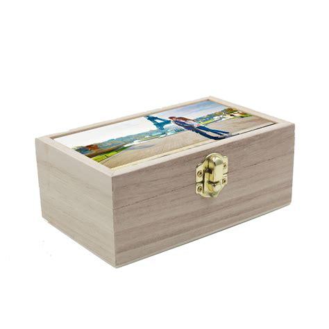 Caja de madera personalizada grande   AR Regalos
