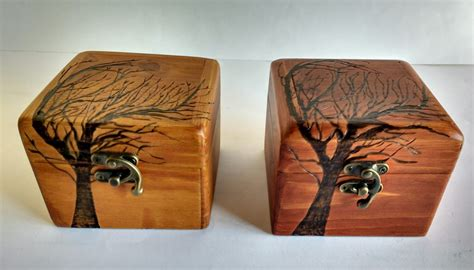 Caja de madera reciclada de palet hecho a mano con ...