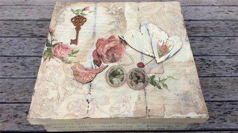 Caja de madera vintage   MYBA   YouTube