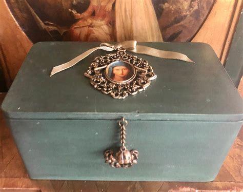 Caja De Pañuelos De Madera Vintage Caja De Servilletas De ...