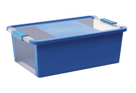 Caja de plástico azul BIBOX Ref. 15880291   Leroy Merlin